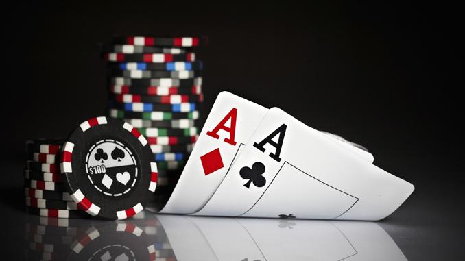 bule poker